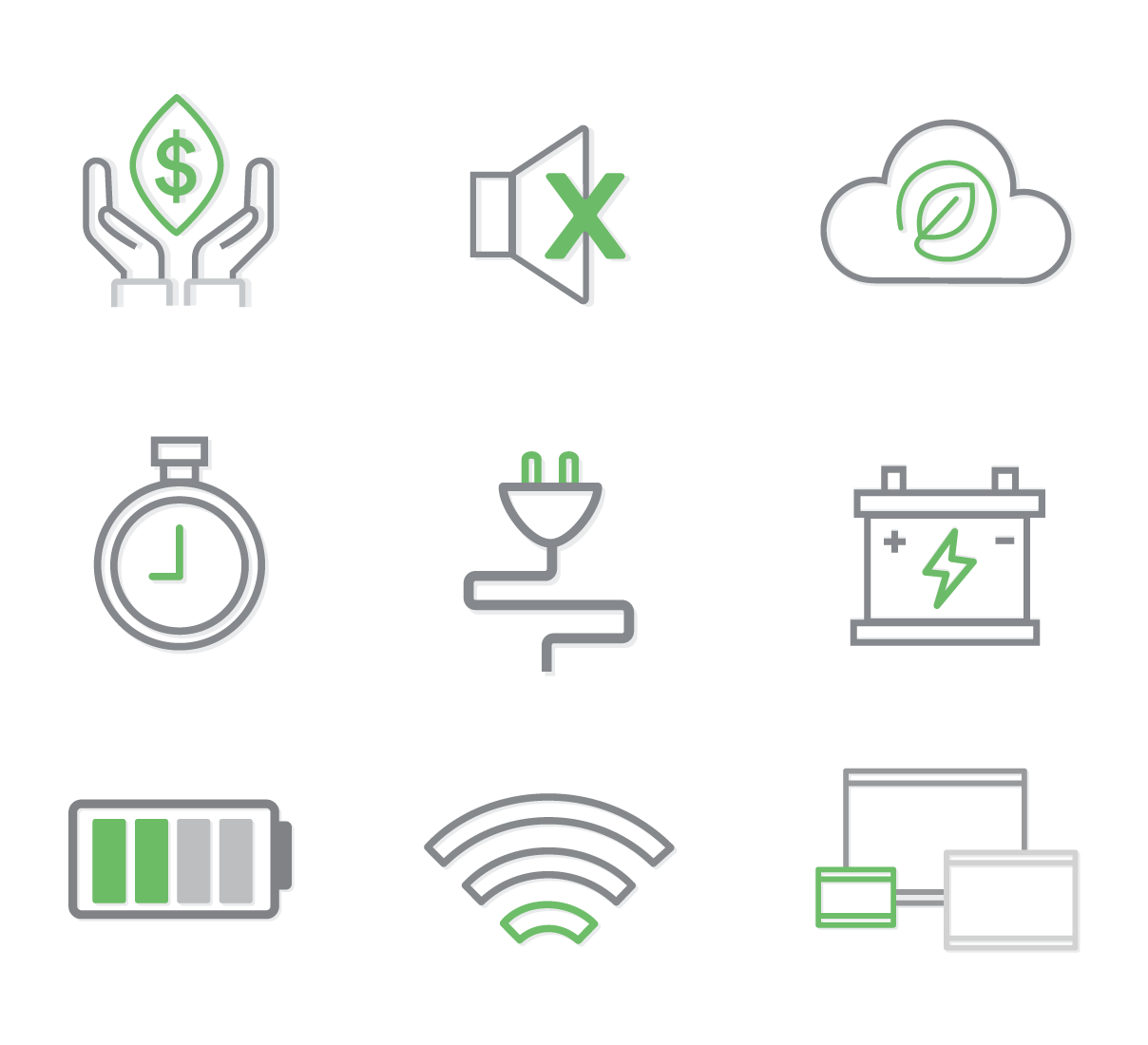 green-machine-icon-pack
